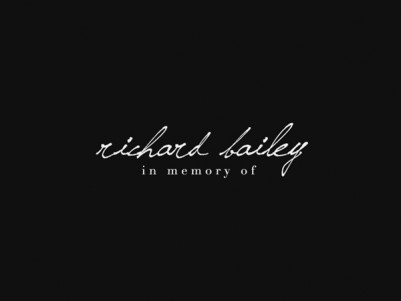 in memory of richard bailey